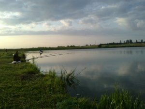 Рыбалка в селе Радуховка в Ровенской области-1