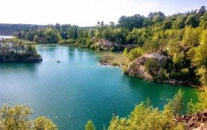 Рыбалка в селе Злазне в Ровенской области-1