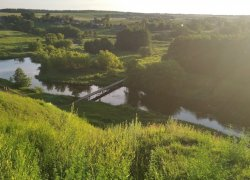 Рыбалка на реке Горынь