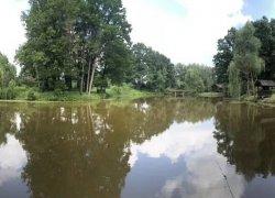 Рыбалка в Будунце Черновицкой области