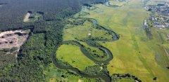 Рыбалка на речке Горынь у села Александрия в Ровенской области-1