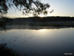 Рыбалка на речке Замчисько  у села Мал. Любаша в Ровенской области-1
