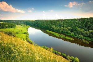 Рыбалка у села Губков в Ровенской области-1