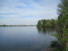 Рыбалка у села Козин в Ровенской области-1