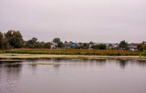 Рыбалка у села Решуцк в Ровенской области-1