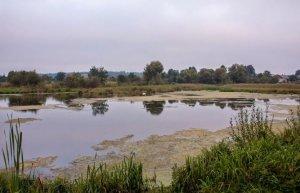 Рыбалка у села Святье в Ровенской области-1