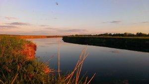 Рыбалка у села Вилья в Ровенской области-1