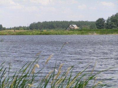 Рыбалка у села Волица в Львовской области-1