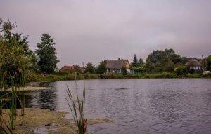 Рыбалка у села Заря в Ровенской области-1