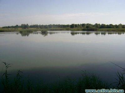 Рыбалка в городе Яворов в Львовской области-1