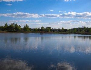 Рыбалка в селе Матиевка в Ровенской области-1