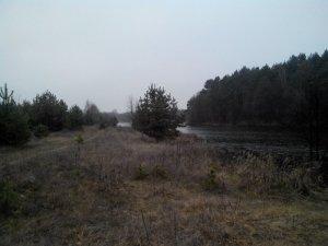 Рыбалка в селе Соломка в Ровенской области-1