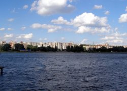 Рыбалка на реке Южный Буг в Хмельницком-1
