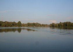 Рыбалка на земснаряде в Хмельницком-1