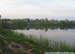 Рыбалка у села Подмогилка в Львовской области-1