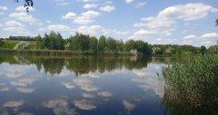 Озеро Ростыня в Харьковской области