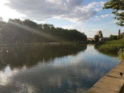 Рыбалка на Левандовском озере в Львовской области-1