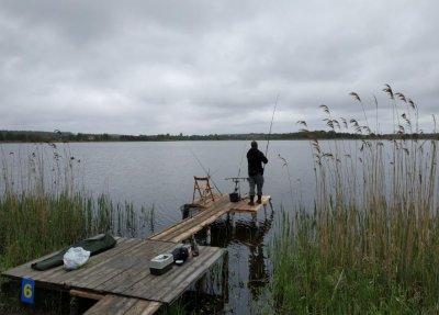 Рыбалка на озере Глория