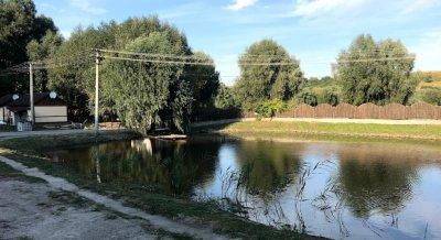 Рыбалка на озере Поплавок с. Веремья в Киевской области