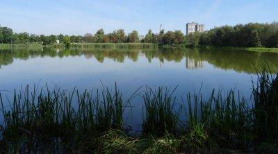 Рыбалка на озере у с. Красное