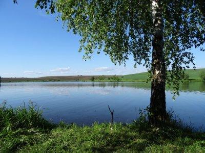 Рыбалка в селе Долиняны в Львовской области-1